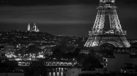cadre parc des princes tableau photo tour eiffel et sacr 233 coeur noir et blanc 224 partir de 34 90 wazim photos