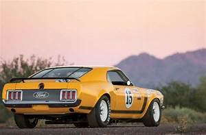 1970 Ford Mustang Boss Trans Am Race Car 0 Miles Orange