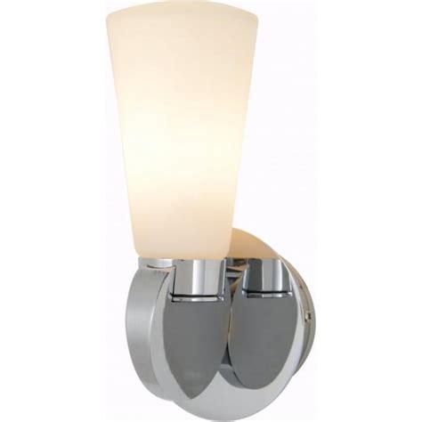 Single Bathroom Light Fixtures by Forum Lighting Hydra Single Light Polished Chrome Bathroom