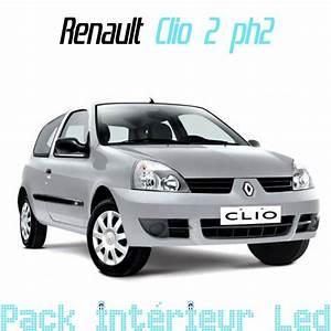 Clio Phase 2 : pack int rieur led pour renault clio 2 phase 2 led auto discount ~ Medecine-chirurgie-esthetiques.com Avis de Voitures