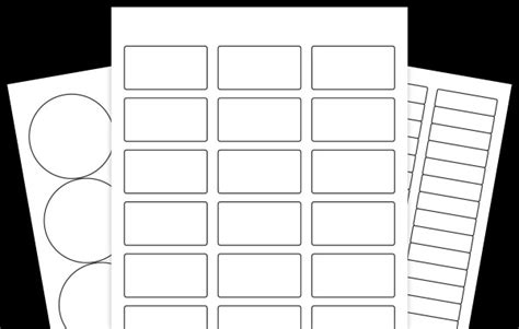 Blank Label Templates 30 Per Sheet by Blank Label Templates 24 Per Sheet Templates Resume