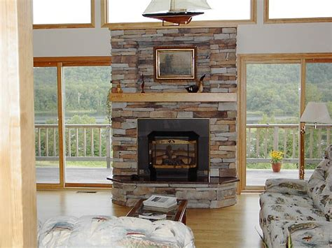 Interior Interesting Stone Fireplace Designs To Fit Your