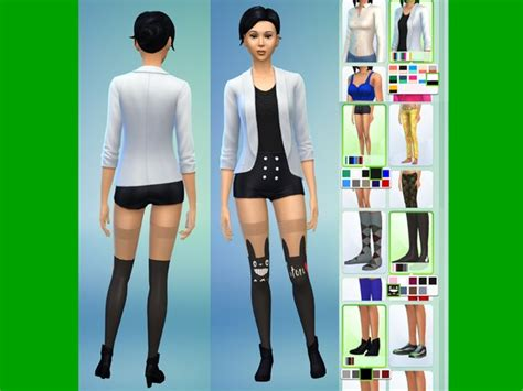 The Sims Resource Cute Totoro Outfit by Lanessear u2022 Sims 4 Downloads | Sims | Pinterest | Sims ...