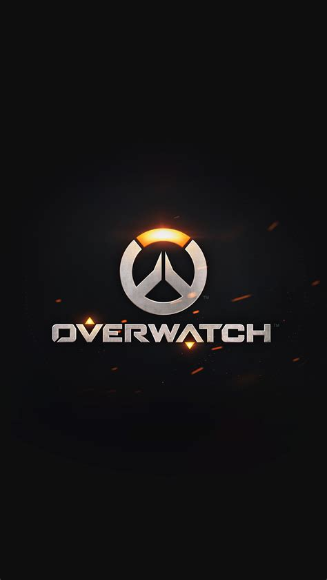 overwatch game logo iphone  hd wallpaper hd