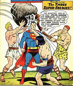Emily's Senior Comp Blog: Hercules vs. Superman