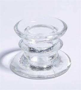 Bougeoir En Verre : acheter bougeoir verre transparent ht 4cm bougies leds photophores 1001 deco table ~ Teatrodelosmanantiales.com Idées de Décoration