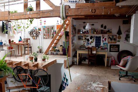 artist home studio the lovely side rebecca s artistic abode in sf