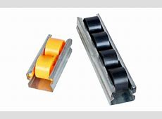 plastic sliding roller track images