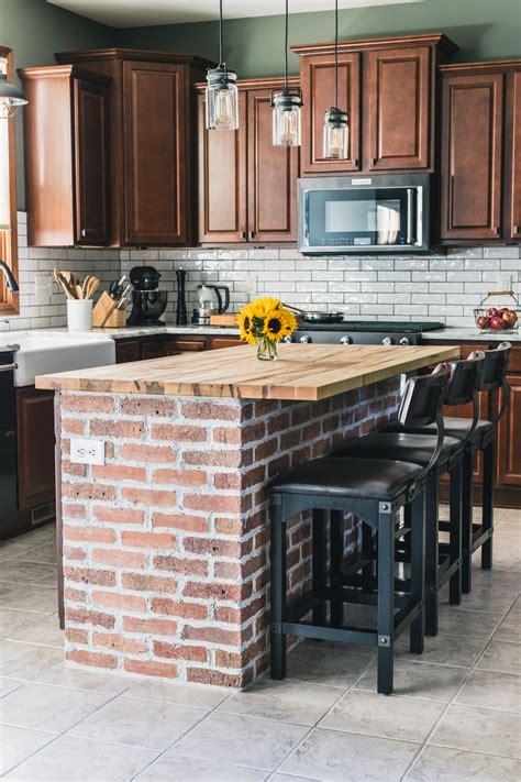 tile for kitchen backsplash pictures diy brick kitchen island the of our
