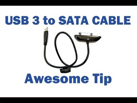 usb 3 0 to sata adapter usb 3 to sata cable awesome tip seagate goflex