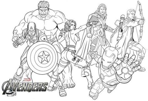 avengers endgame coloring page  marvel fans avengers coloring pages avengers coloring