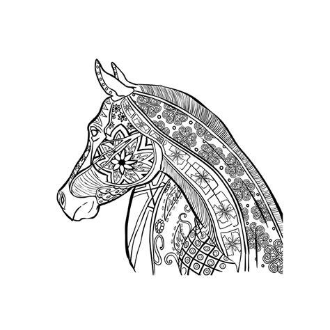 Dieren Kleurplaat Moeilijk by Leuk Voor Paard