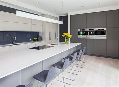 contemporary grey kitchens 35 gray kitchen counters you can t say no to with pictures Contemporary Grey Kitchens