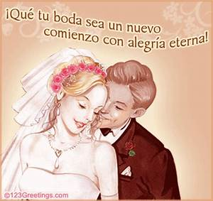 Spanish wishes free around the world ecards greeting for Wedding cards messages in spanish