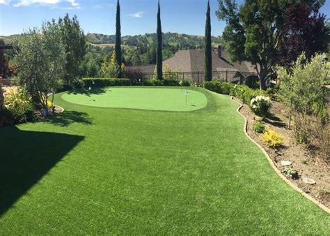 Backyard Artificial Putting Green by Danville Ca Backyard Putting Green Forever Greens