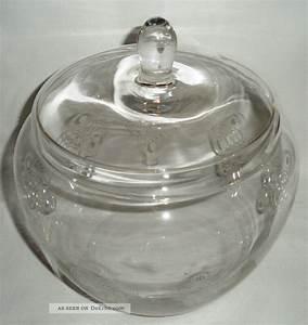Glasgefäß Mit Deckel : 70 er jahre bowle glasgef mit deckel kreise kristall glas gro e bonboniere ~ Eleganceandgraceweddings.com Haus und Dekorationen