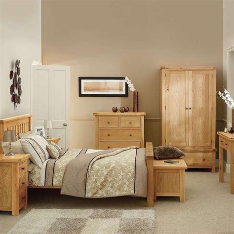 basics  solid oak bedroom furniture