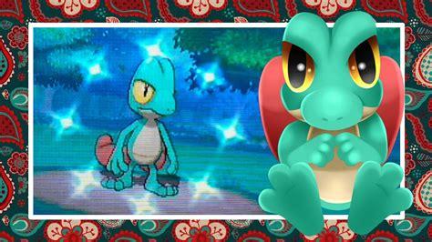 shiny treecko  pokemon alpha sapphire