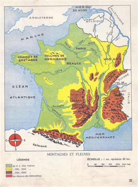 Carte De Montagne Ce1 by Manuels Anciens Ii Les Accidents Du Sol Ou Relief
