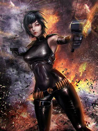 Anime Realistic Dark Pistol Mobile Px Wallpapers