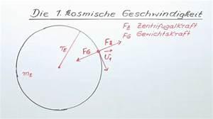 Geschwindigkeit Internet Berechnen : erste kosmische geschwindigkeit physik online lernen ~ Themetempest.com Abrechnung