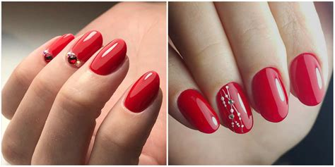 red nails  top  trendy ways   red nails