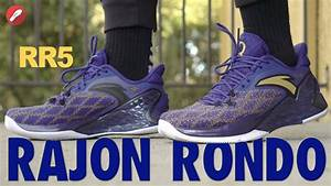 Anta Rajon Rondo RR5 First Impressions! - YouTube
