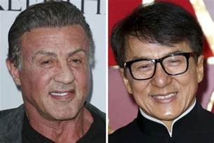 Sylvester Stallone and Jackie Chan Images