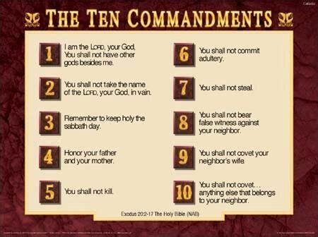 ten commandments ifaith pinterest ten