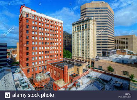 buildings  downtown columbia south carolina usa stock