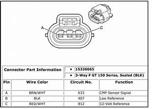 2003 Buick Century 3 1 Has Code For Cam Sensor Performance