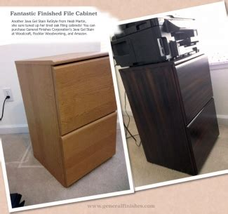 staining kitchen cabinets filing cabinet revival with general finishes java gel 2462