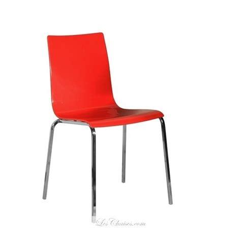 chaises rouges chaise gaby et chaises plastique chaises noir