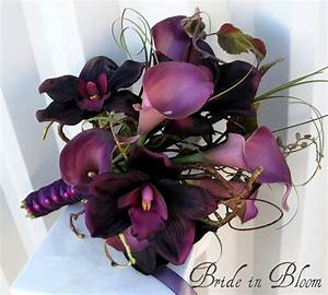 Wedding Bouquet Real touch calla lily Bridal bouquet
