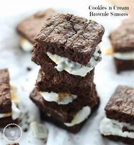 Cookies N Cream Brownie S'mores