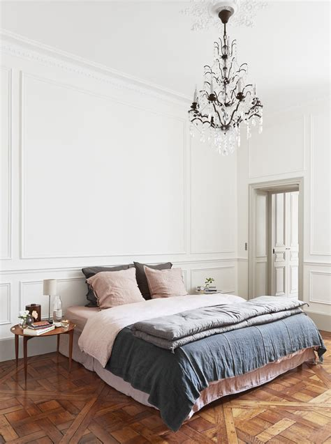 Navy Blush Bedroom