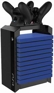 Official PS4 Games Tower + Dual Charger Games Accessories