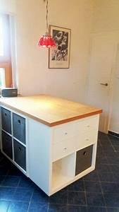 Ikea Regal Küche : ikea k chen hack so pimpst du deine k che richtig pinterest kallax regal arbeitsfl chen ~ Markanthonyermac.com Haus und Dekorationen