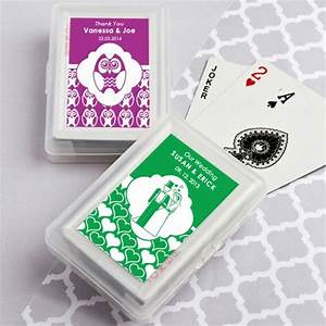 25 best ideas about personalized playing cards on With playing card wedding favors