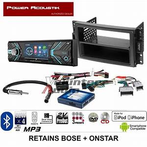 Power Acoustik Single Din 3 4 U0026quot  Lcd Dvd Bluetooth Radio Usb