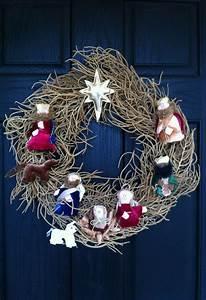 70 Best Nativity Wreaths Images On Pinterest