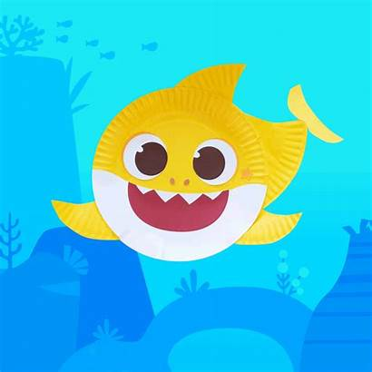 Shark Craft Plate Nickelodeon Into Crafts Nick