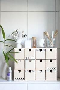 Badezimmer Bank Mit Aufbewahrung : gestaltungsideen f r die mini kommode ikea moppe ~ Sanjose-hotels-ca.com Haus und Dekorationen