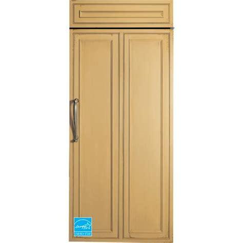 panel ready refrigerator ge monogram 21 97 cuft panel ready side by side refrigerator zir360nhrh brandsmart usa