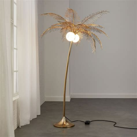 Breezy Palm Tree Floor Lamp   So That's Cool