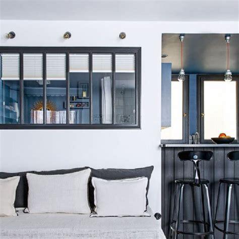 separation cuisine salle a manger bar de separation cuisine ouverte maison design bahbe com