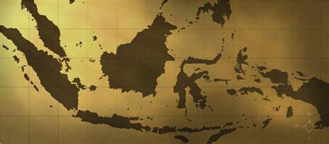 indonesia  map sederhana