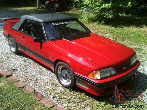 1988 Saleen Ford Mustang Convertable #557