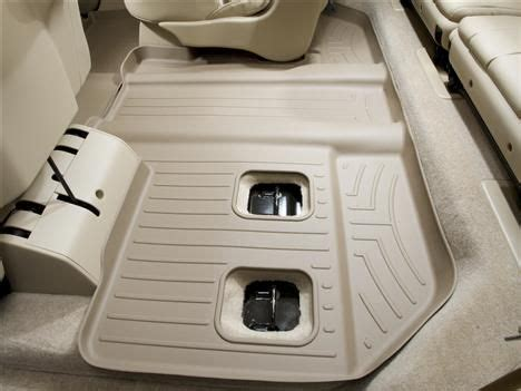 weathertech floor mats for 2007 yukon denali 2007 gmc yukon xl yukon denali xl weathertech floorliner car floor mats liner tan