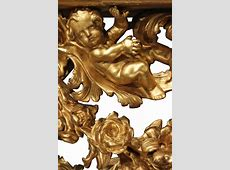 Italian Early 18th Century Baroque Giltwood Console For